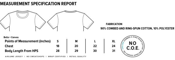 hallow's eve shirt specs