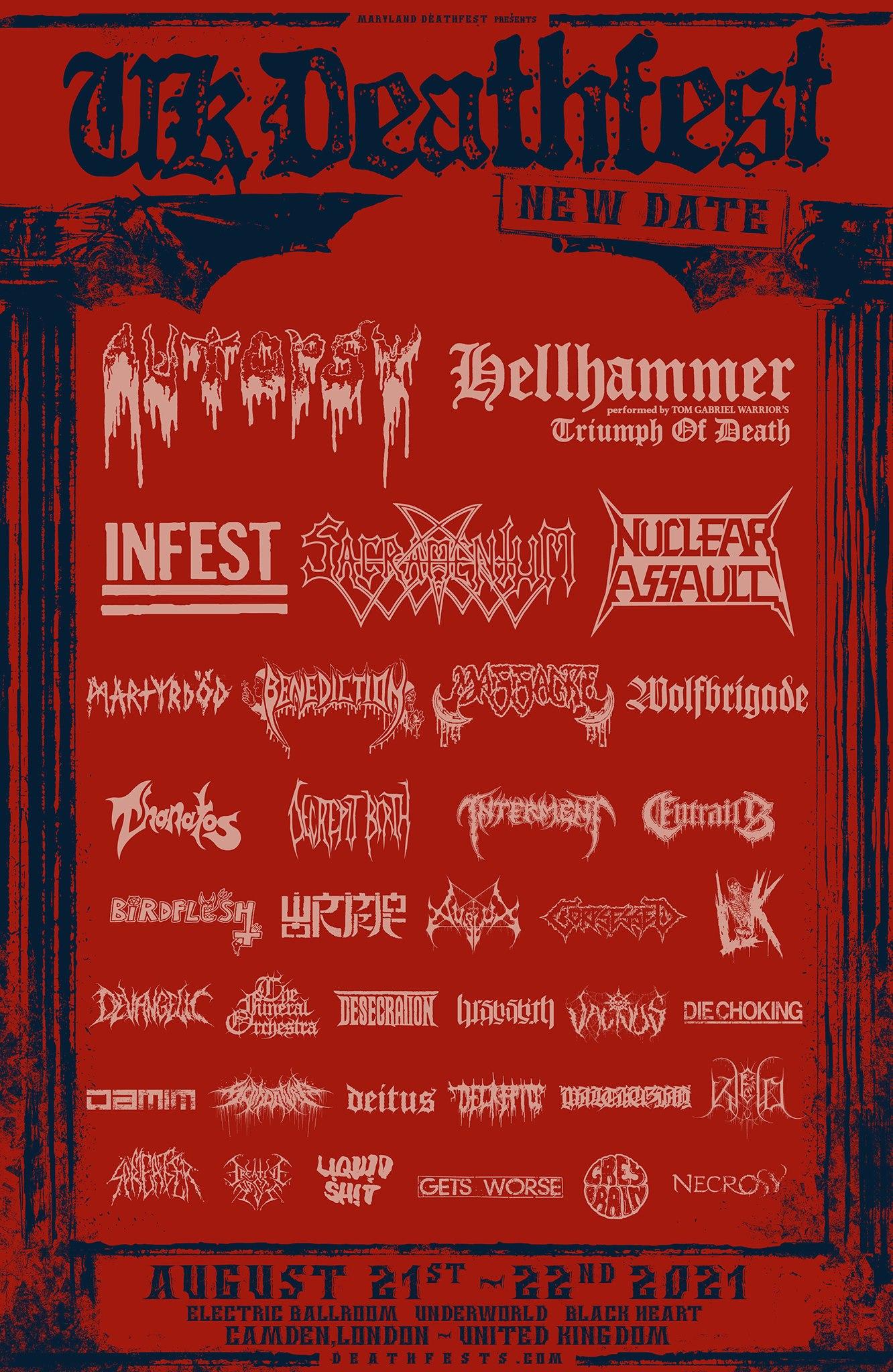 UK Deathfest 2021